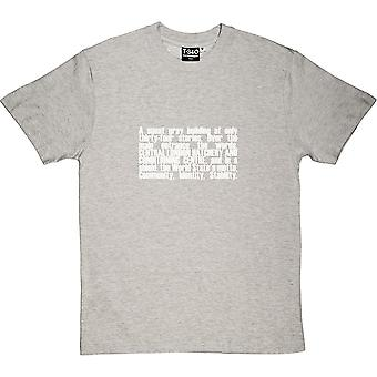 Brave New World Opening Lines Men's T-Shirt