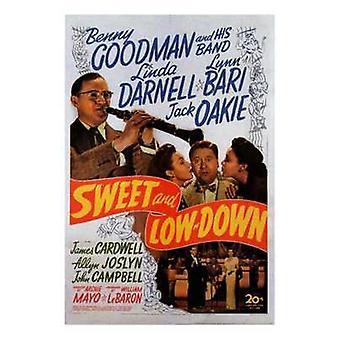 Sød og lavt ned film plakat (11 x 17)