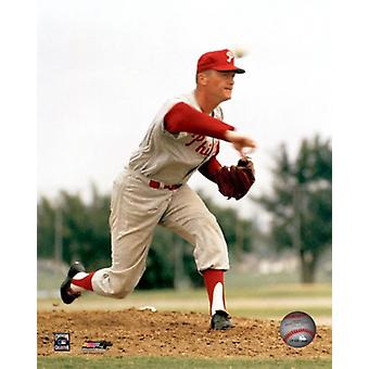 Jim Bunning Action Photo Print