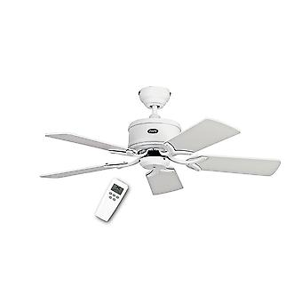 DC ceiling fan Eco Elements White with remote control in various sizes