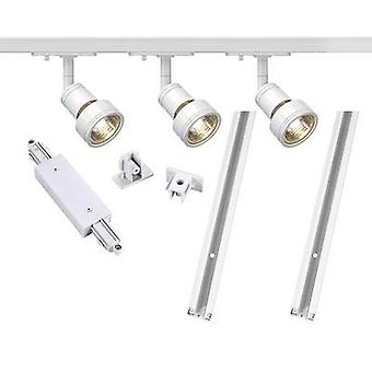 Mounting rail set (complete) GU10 12.9 W LED SLV 143191 White