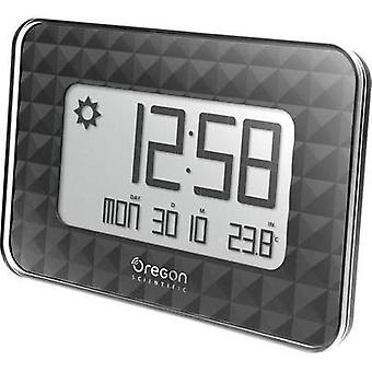 Radio Wall clock Oregon Scientific JW 208 black 30 mm x 246 mm x 173 mm Black