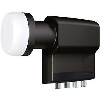 Quad LNB Inverto BLACK Premium No. of participants: 4 LNB feed size: 40 mm with switch