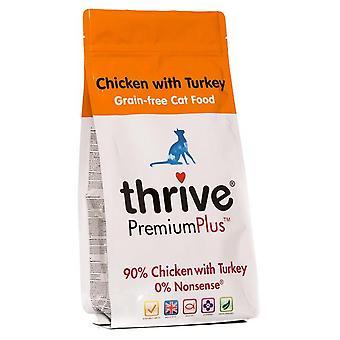 Trives kat Adult Premium Plus korn gratis kylling med Tyrkiet 1,5 kg