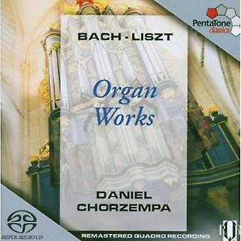 Bach/Liszt - orgelværker af Bach & Liszt [SACD] USA import