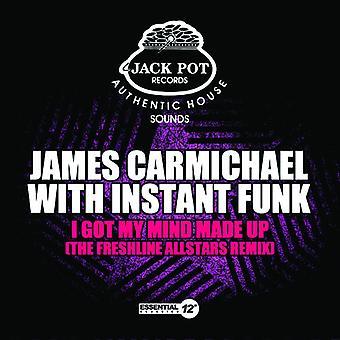 James Carmichael - I Got My Mind Made Up USA import