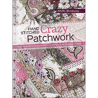 Search Press Books-Hand Stitched Crazy Patchwork SP-13482