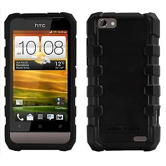 Body Glove DropSuit Rugged Case for HTC One V (Black)