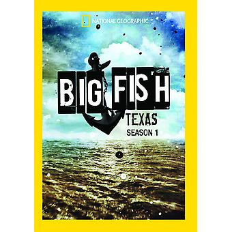 Big Fish:Texas Season 1 [DVD] USA import