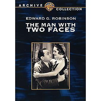 Man with Two Faces [DVD] USA import
