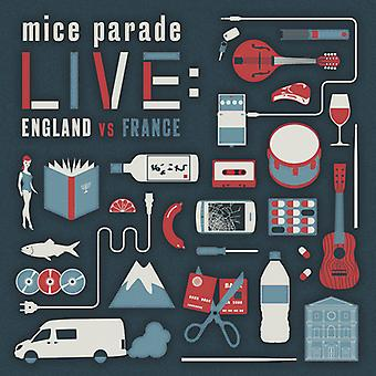 Mus Parade - Live: England vs Frankrig [CD] USA import