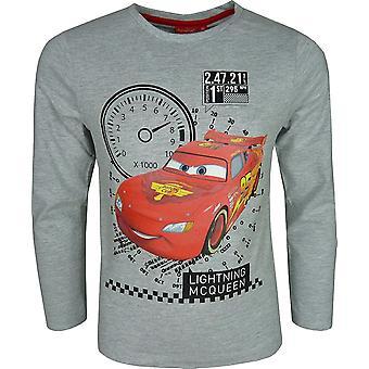 Auta-Disney Cars Lightning McQueen chłopców długi rękaw Top