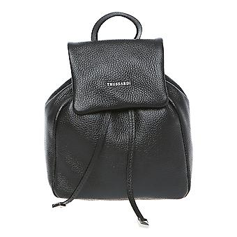Trussardi Bag Backpack small woman with adjustable straps and handle made of genuine calf leather Made in Italy ï 22x23x11 ï .75 Cm .75 – – Mod. 76B156AM