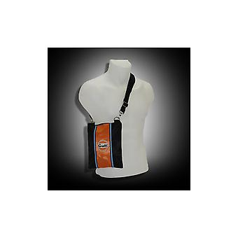 Continental Racing Gulf Collection Continental Racing Gulf Collection  Pouch Bag - Orange Stripe
