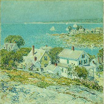 Childe Hassam - New England Headlands Poster Print Giclee