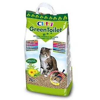 Cliffi Greentoilet 7 liters (Cats , Grooming & Wellbeing , Cat Litter)