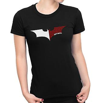 Na Na Batman Dark Knight Bat Logo White Women's T-Shirt
