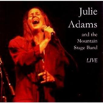 Julie Adams - Julie Adams & Mountain fase Band (Live) [CD] USA import
