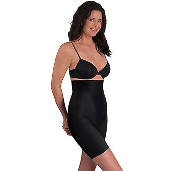 Womens Miraclesuit Shapewear New Classic's Black Hi-Waist Thigh Slimmer 2799