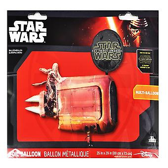 Anagram Star Wars Rey's Speeder Supershape Balloon
