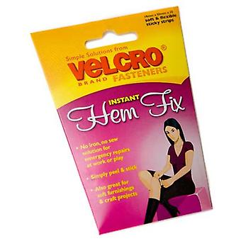 Pack of 20 VELCRO® Hem Fix Instant Fasteners 19x50mm from Caraselle
