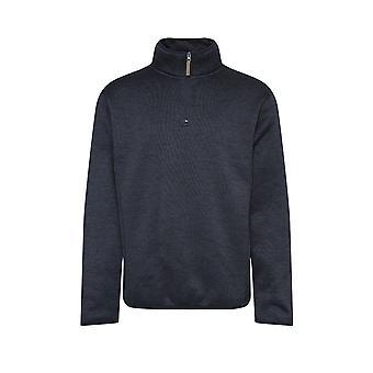 Mens kampioen kleding Banff mergel stijl lichtgewicht kwartaal Zip Fleece jas