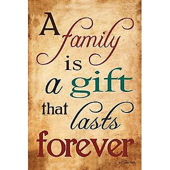 Gift of Family Poster Print by Susan Ball (12 x 18)