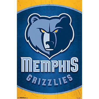 Memphis Grizzlies - Logo 14 Poster Poster Print