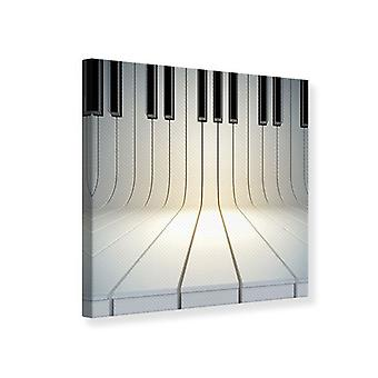 Canvas Print Piano Keys