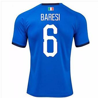 2018-19 Italia hjem skjorte (Baresi 6)