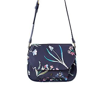 Joules Darby - Navy Botanical Print (Textile) Accessories Bags