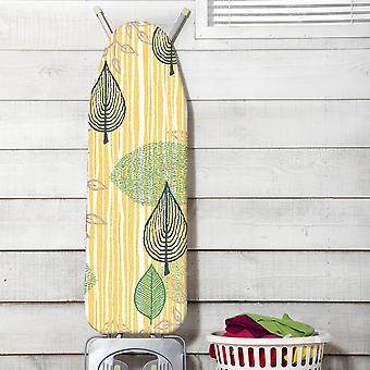 JML Fast Fit Ironing Board Cover Ultimate - Leaf Print