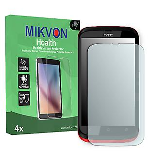 HTC T328h Screen Protector - Mikvon Health (Retail Package with accessories)