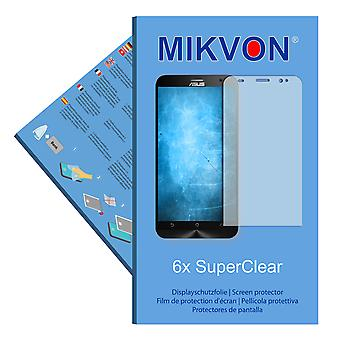 Asus ZenFone 2 Deluxe (ZE551ML) screen protector- Mikvon films SuperClear