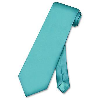 Biagio 100% siden halsduk Solid mäns hals slips