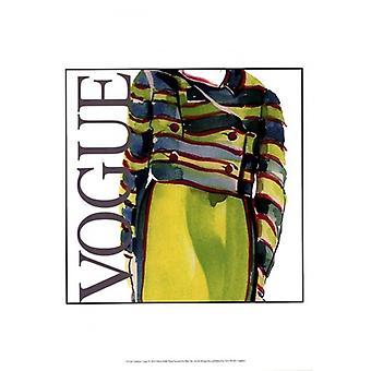 Fashion Vogue Poster Print by Elissa Della-Piana (13 x 19)