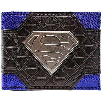 DC Comics Superman Logo ID & Card Bi-Fold Wallet