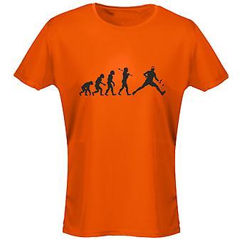 Colores camiseta 8 mujeres divertidos tenis Evo evolución por swagwear