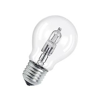 Eco halogen 94 mm OSRAM 230 V E27 77 W Warm white EEC: D Pear shape dimmable 1 pc(s)
