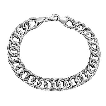 Lust auf Muster 925 Silber Armband 19cm