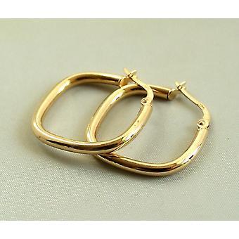 Gyllene diamanter örhängen