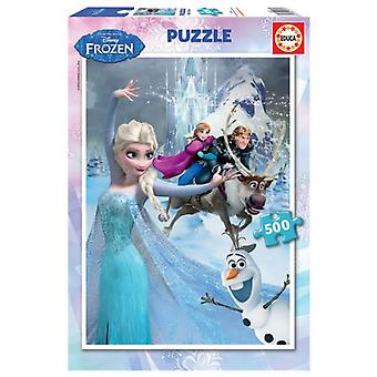 Educa Puzzle Frozen 500 Pieces (Babies and Children , Toys , Boardgames)