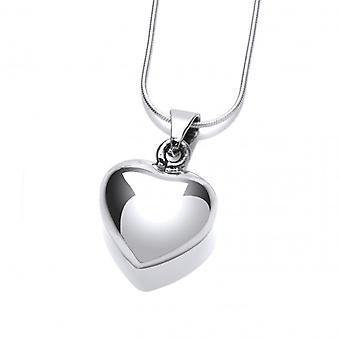 Cavendish French True Love Silver Heart Pendant without Chain