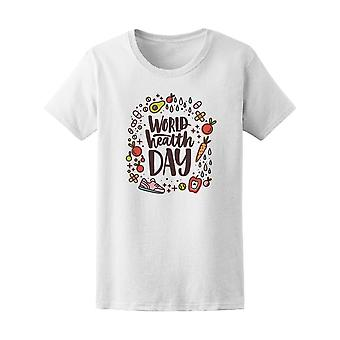 World Health Day Fruit Tee Women's -Image by Shutterstock
