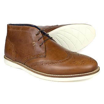 Red Tape Aldford Tan Leather Men's Formal Boots