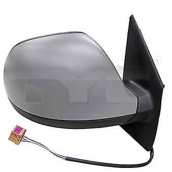 Right Mirror (Electric Heated Primed Cover) For VW TRANSPORTER Mk6 Van 2015-2019