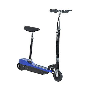 HOMCOM Electric E Scooter Ride on Battery Kids Children Toys Scooters 120W Motor 24V - Blue