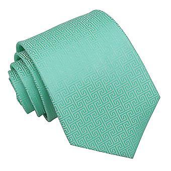 Mięty zielonej grecki klucz klasyczny krawat
