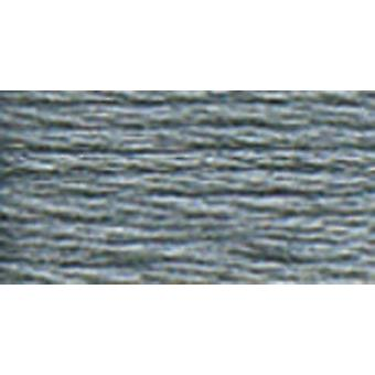DMC 6-Strand Embroidery Cotton 100g Cone-Steel Grey Dark