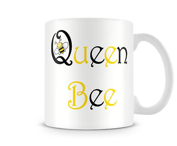 Queen Bee Printed Tasse